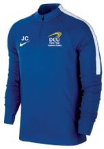 DCU Business Studies Squad 17 1/4 Zip Midlayer - Royal Blue/White